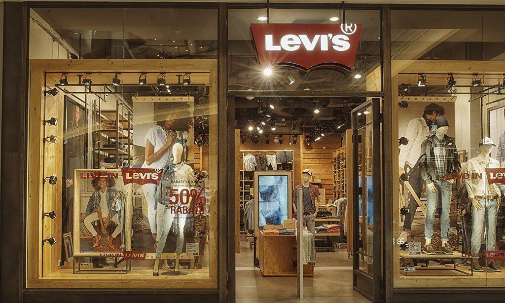 levis wyposażenie sklepu