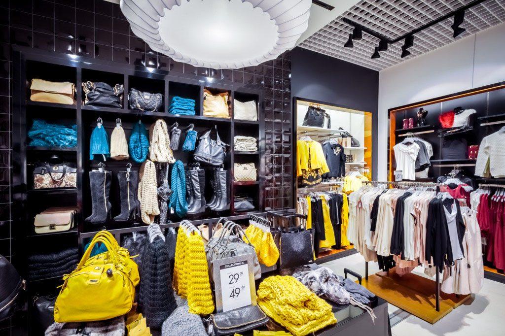 projektowanie sklepów w galerii