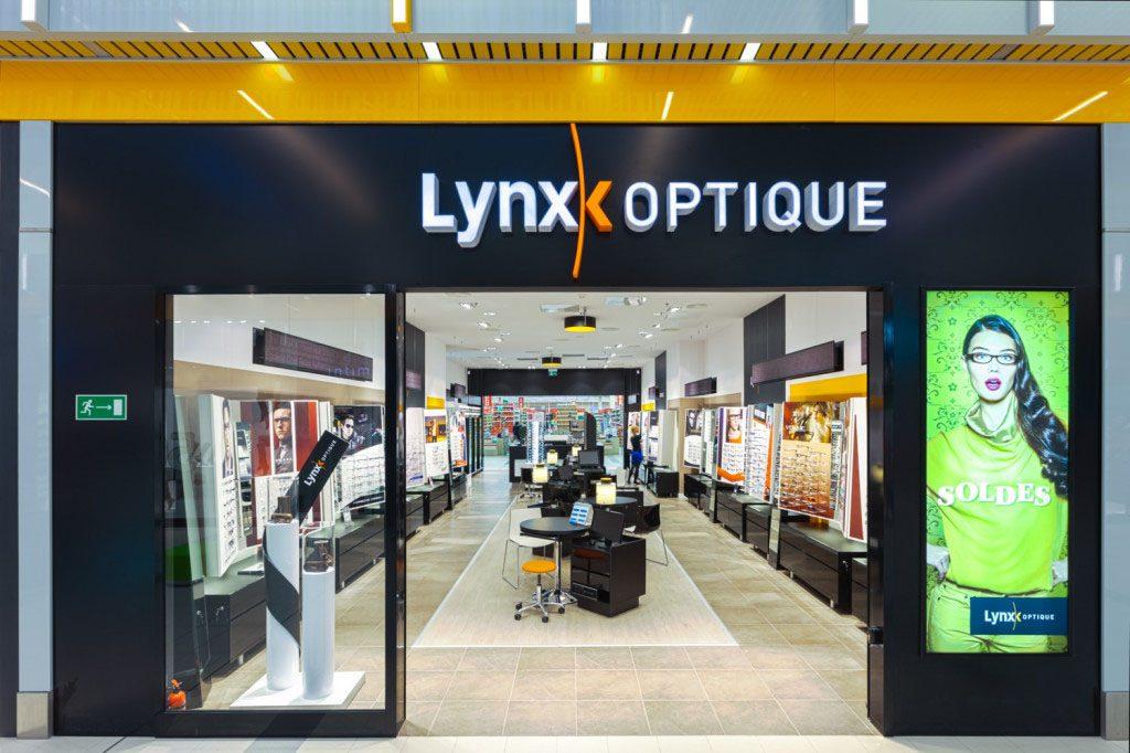 wyposazenie przestrzeni handlowej dla Lynx