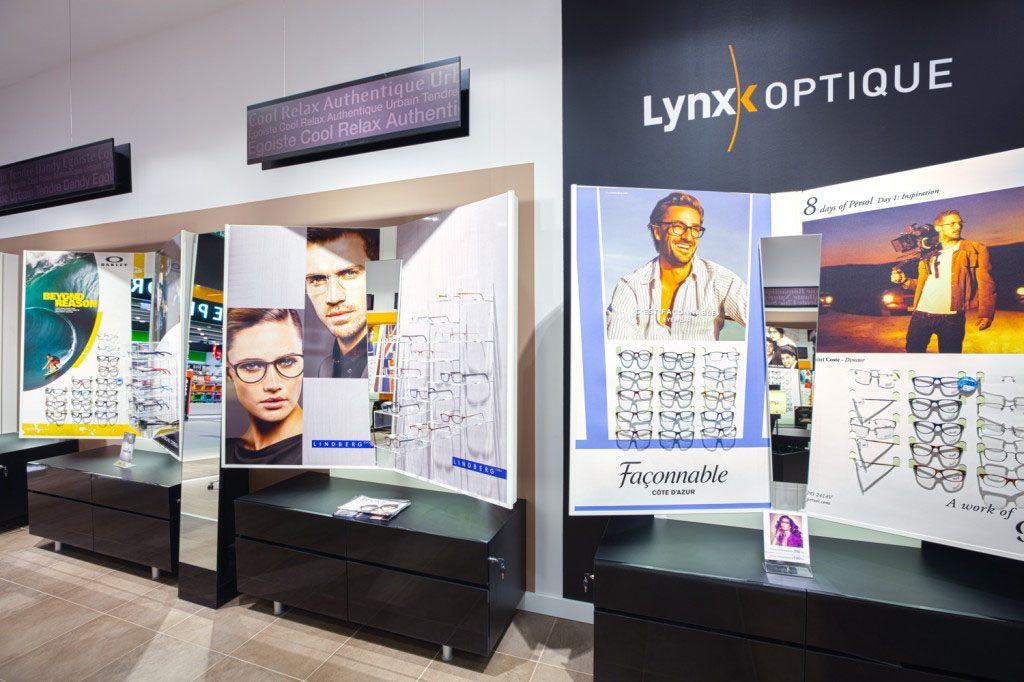 wyposazenie przestrzeni handlowej lynxx