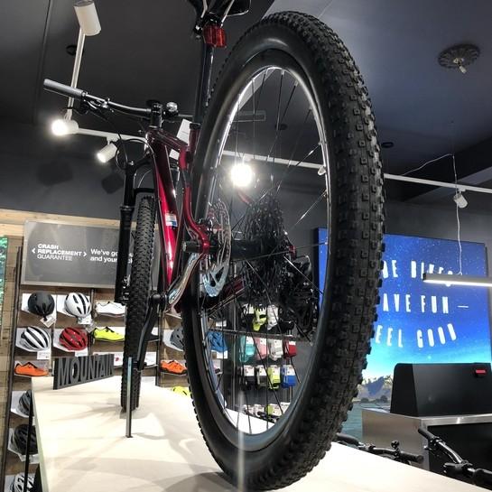 Salon Trek Bicycyle w Shrewsbury przygotowany przez Ergo Store