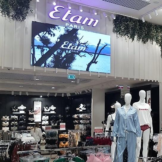 Trzy sklepy Etam w Rosji przygotowane przez Ergo Store