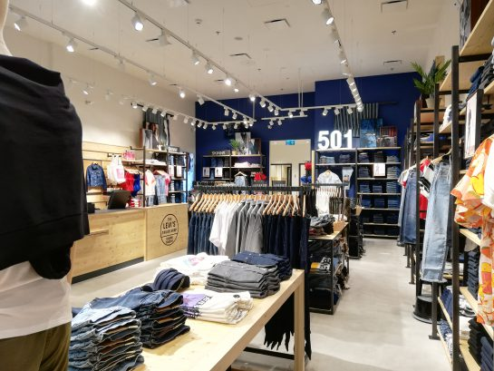New productions for the Levi's brand in Poland