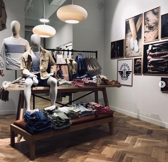 Dockers' store in Paris prepared by Ergo Store