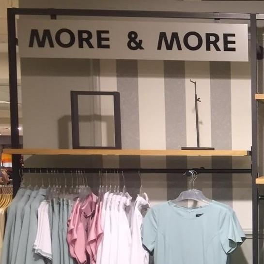Sklepy More & More w Szwajcarii przygotowane przez Ergo Store