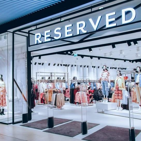 aranżacja sklepu Reserved 2