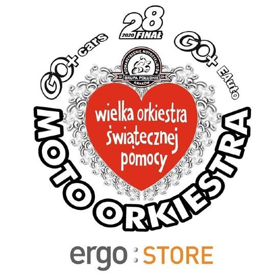 testWOŚP 2020: Ergo Store po raz kolejny sponsorem MotoOrkiestry w Krakowie
