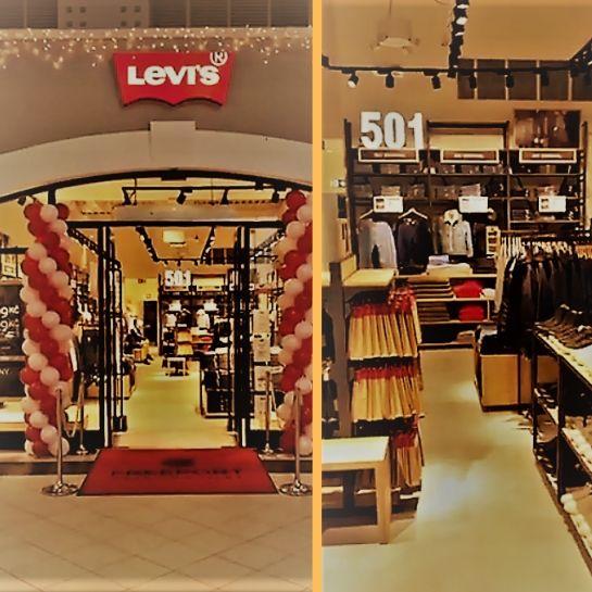 testErgo Store odświeżyło outlet Levi'sa w czeskim Hatě
