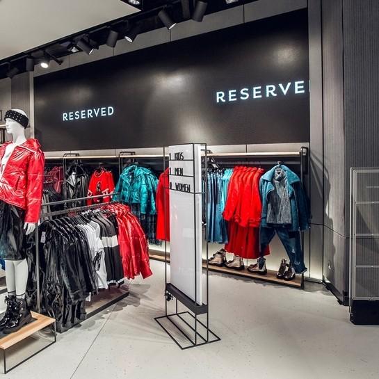 AErgo Store odświeżyło salony Reserved w Moskwie i Petersburgu