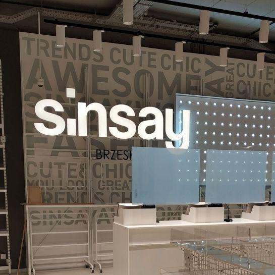 testSinsay w Galerii Odyseja w Brzesku