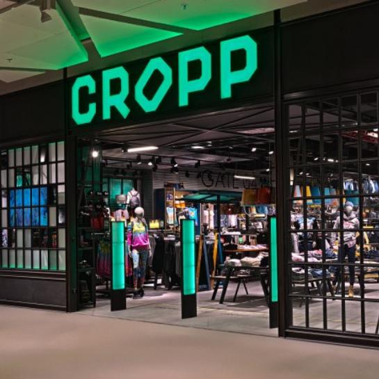 ASklep Cropp w Wałbrzychu kolejną produkcją Ergo Store dla grupy LPP