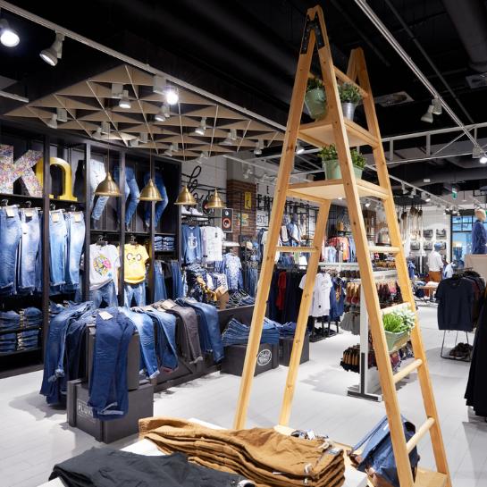 Ergo Store wyprodukowało sklepy czterech marek LPP w Jekaterynburgu